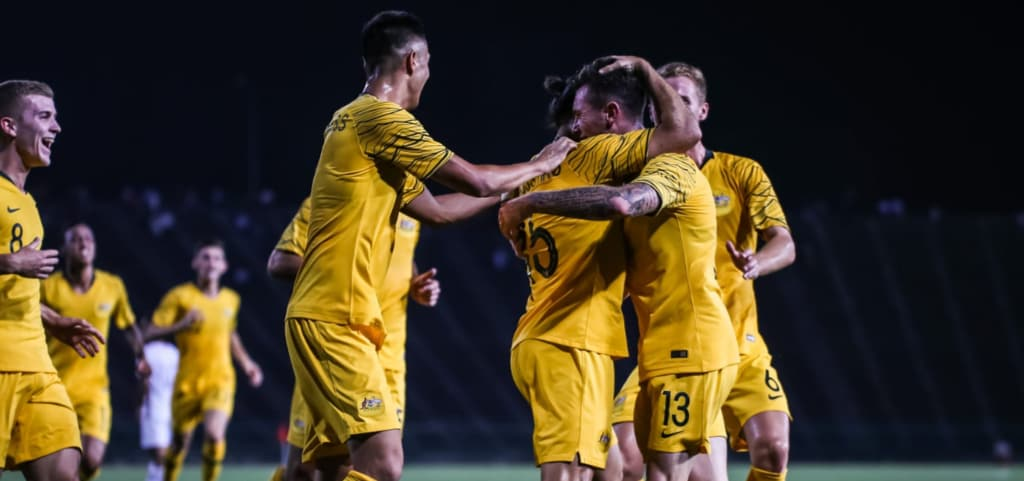 The Olyroos beat Cambodia 6-0.