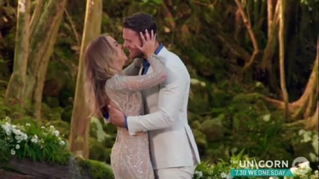 Bachelorette finale, Angie chooses Carlin (Ten)