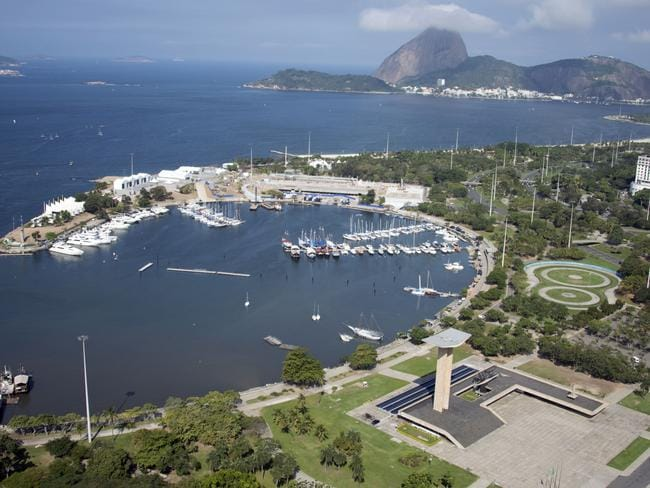 The park adjacent to the Marina da Gloria marina the Olympic sailing events will take place is notorious for muggings.
