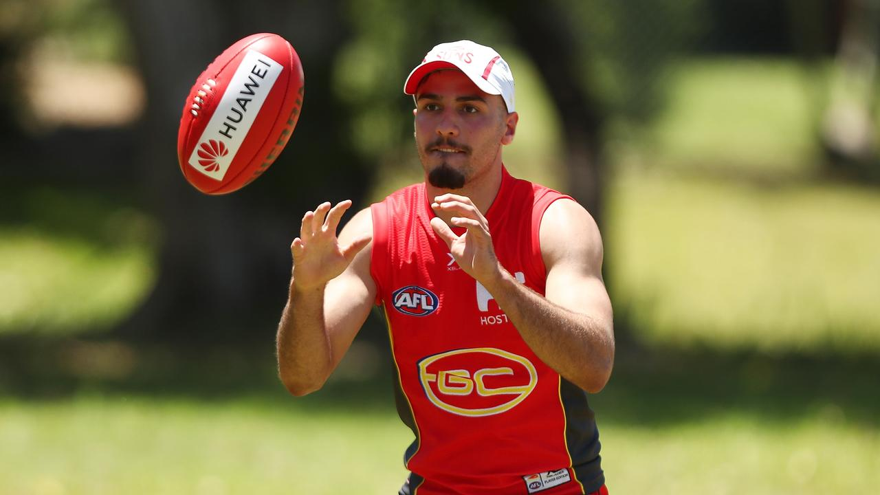 There's lots of hype about Gold Coast's Izak Rankine.