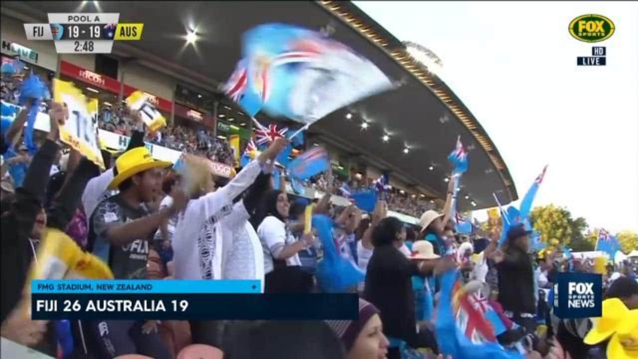 Fiji dominance continues