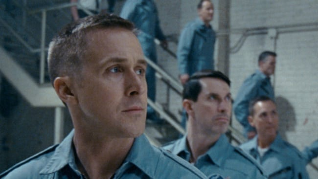 Ryan Gosling as Neil Armstrong in 'First Man'. Photo: Universal