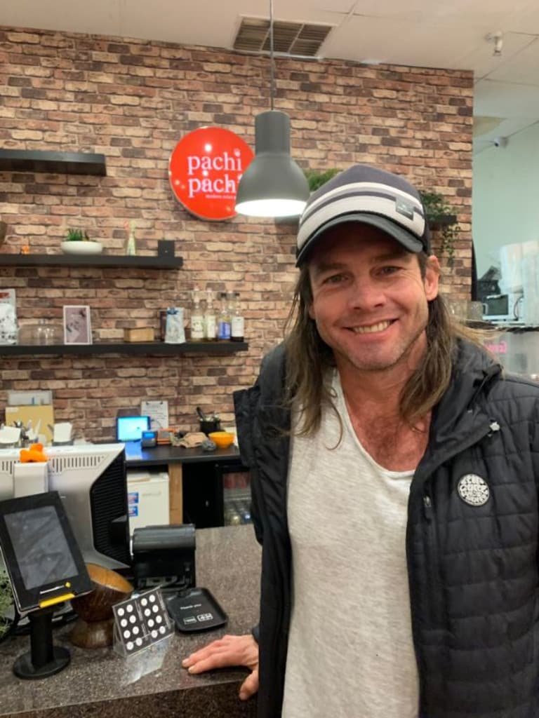 Ben Cousins dined with Mary-Anne Kenworthy in Perth.