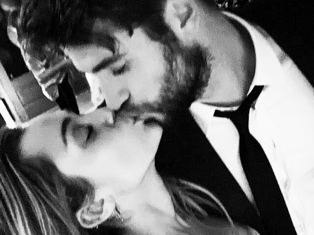 Miley Cyrus and Liam Hemsworth have announced they are married. Picture: Supplied