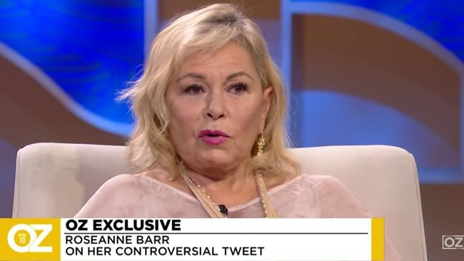 Roseanne has resurfaced in a Dr. Oz interview