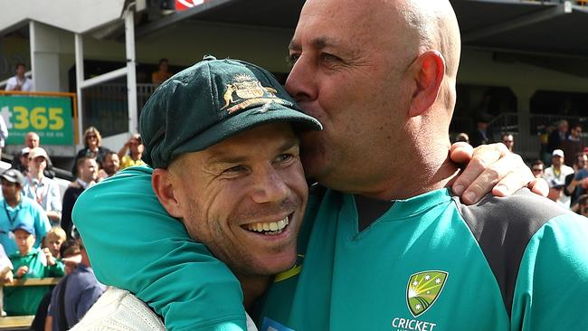 David Warner and Darren Lehmann are part of Australia's leadership group.