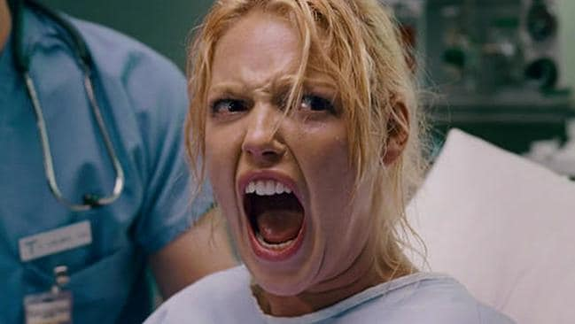 Katherine Heigl didn't enjoy parts of making Knocked Up.
