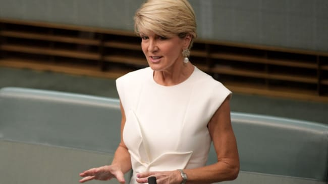 Julie Bishop said there was a renewed effort to get more women elected to parliament, by mentoring young women and changing attitudes.