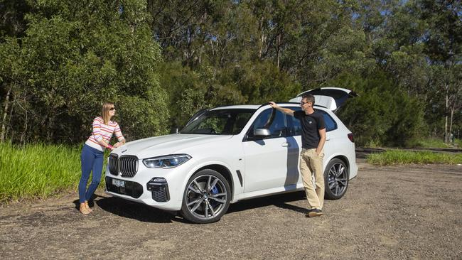 The X5 blends luxury and performance in one package.