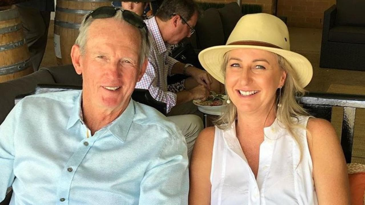 Wayne Bennett pictured with his partner Dale Cage Picture Instagram