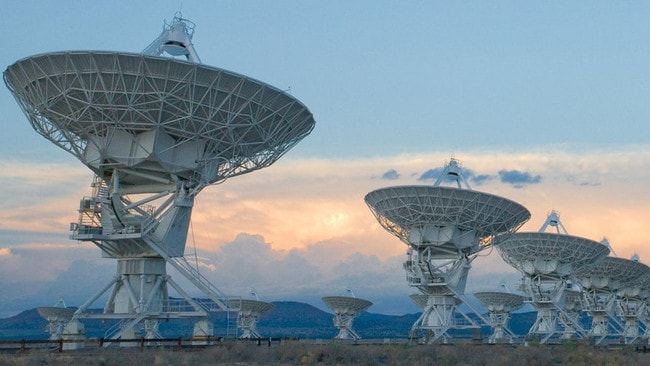 "SETI scientists plan to develop a system that will ""piggyback"" on the Very Large Array (VLA) telescope based in Mexico and provide data to their technosignature search system. Picture: Twitter SETI Institute."