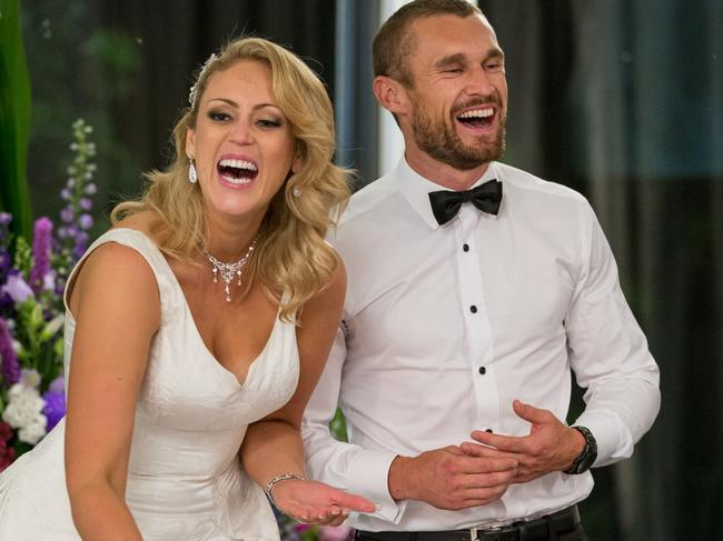 Married At First Sight star Jono Pitman and Clare Verrall