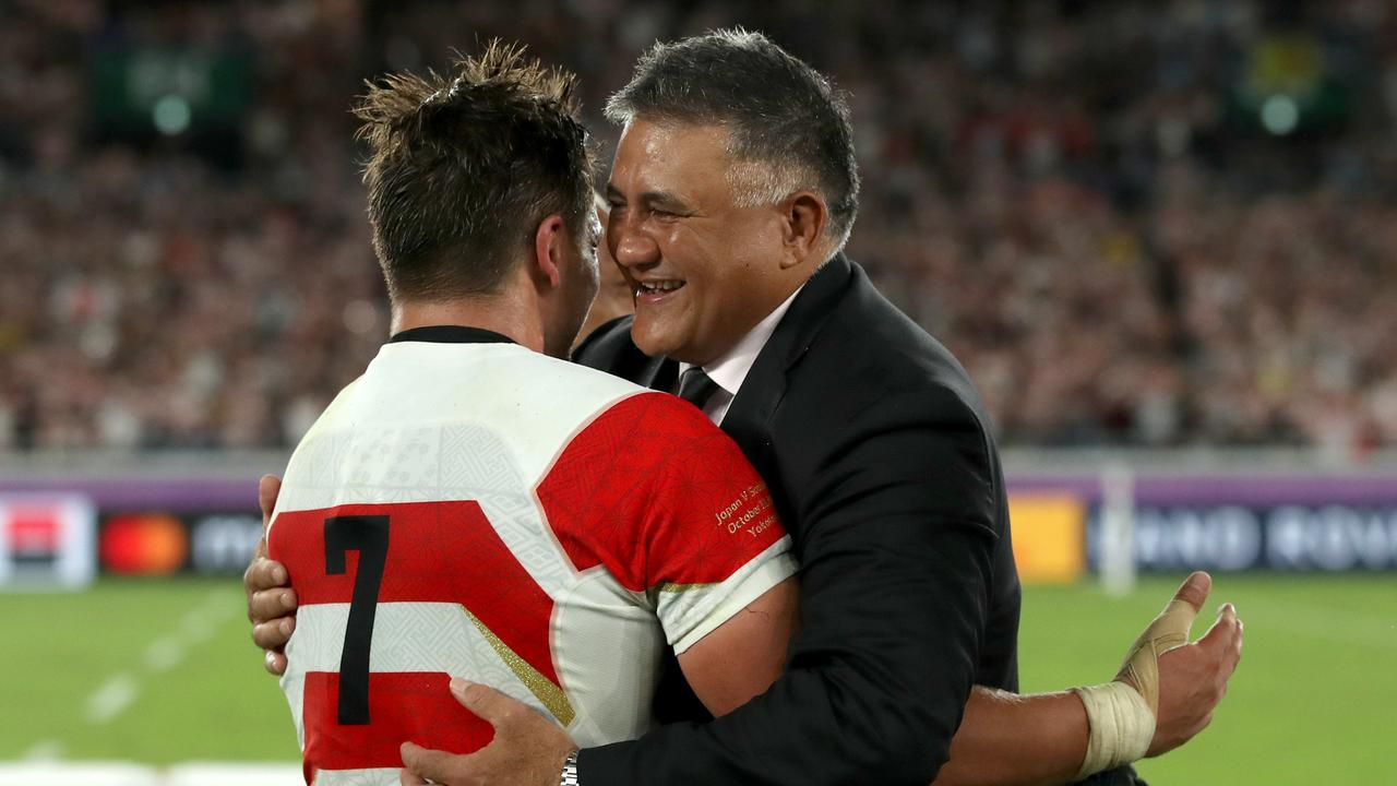 Jamie Joseph is one of five coaches short-listed by World Rugby for coach of the year.