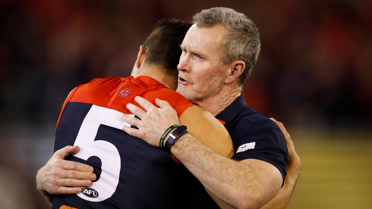 There's game day friction between Brendan McCartney and key Melbourne players.