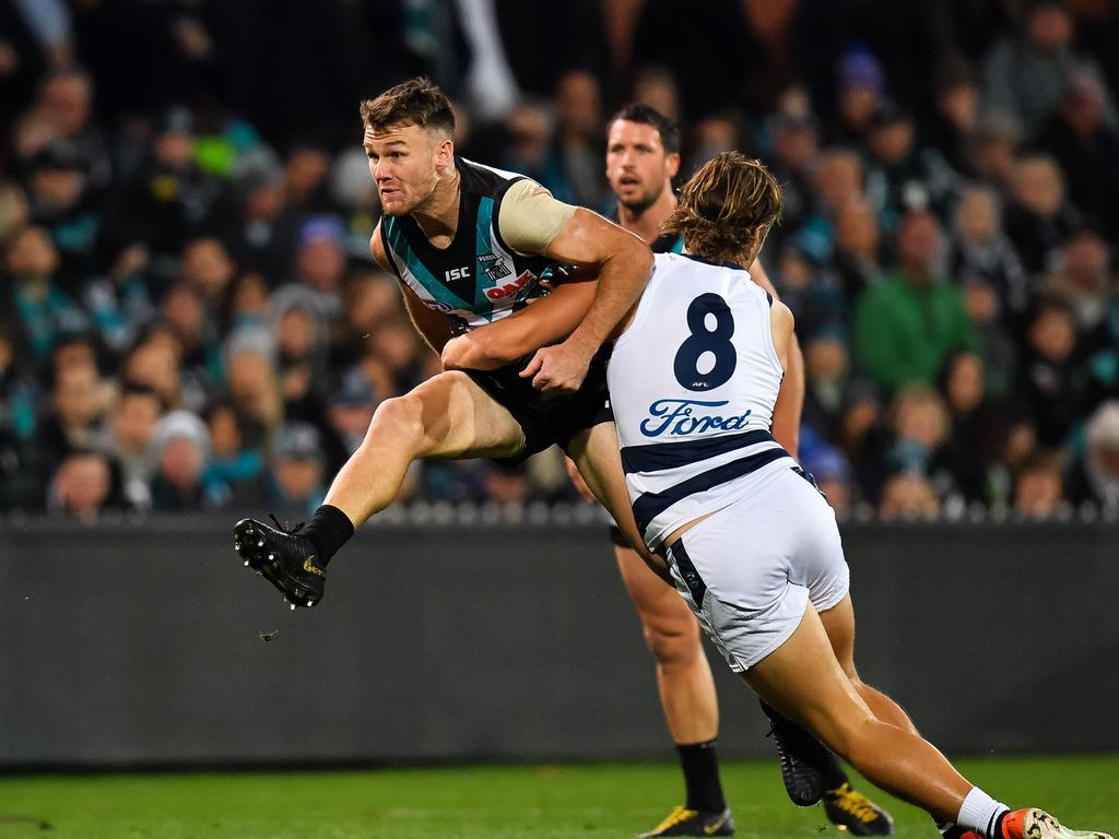 AFL Rd 14 - Port Adelaide v Geelong