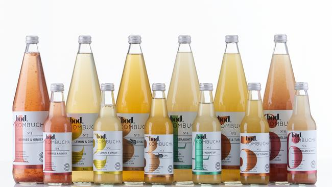 Ginger & Lemon are among some of the popular flavours, but there's plenty of brands selling the popular 'fizzy tea'.