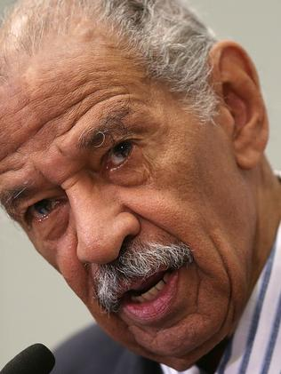 Democrat John Conyers has resigned. Picture: AFP