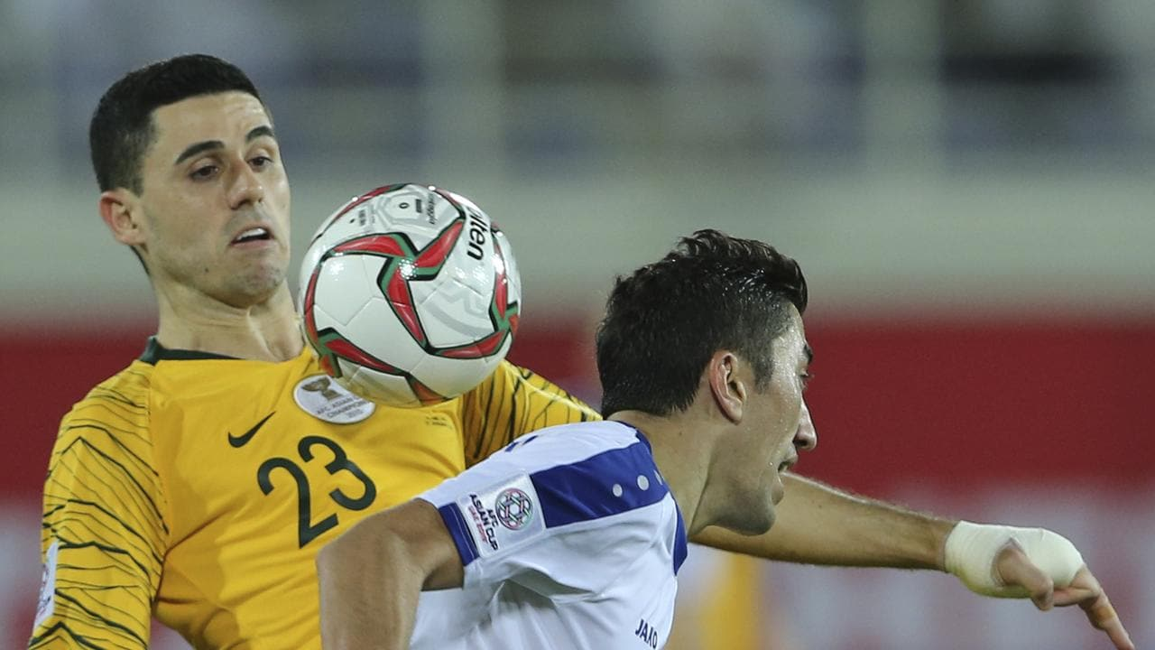 The Socceroos will be without the suspended Tom Rogic.