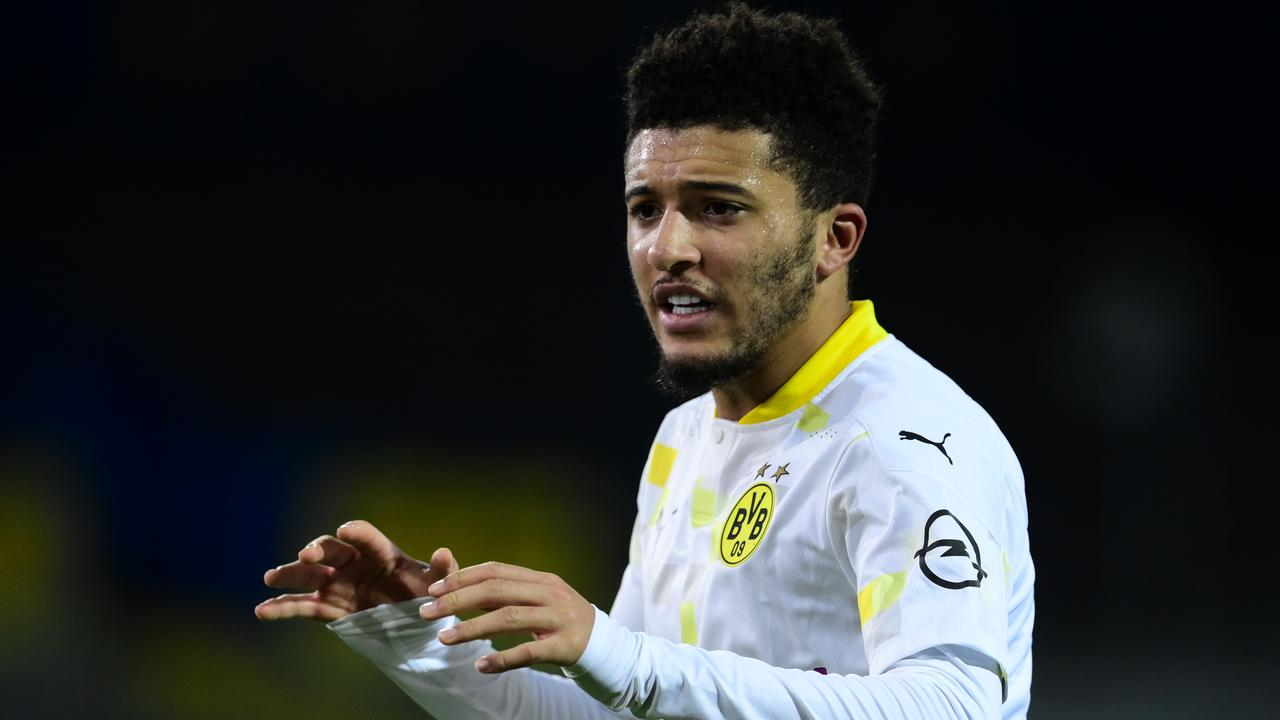 Jadon Sancho scored his first goal of the season today.