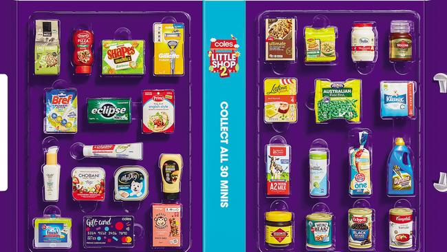 Coles unveils 30 new Little Shop minis officially revealed