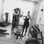 """""""Gotta work off all that pizza and pasta!!!"""" Picture: Ricki-Lee Coulter/Instagram"""