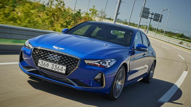 Genesis G70 will compete with the Mercedes-Benz C-Class.