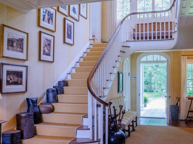 Most people would be quite happy living underneath this staircase.