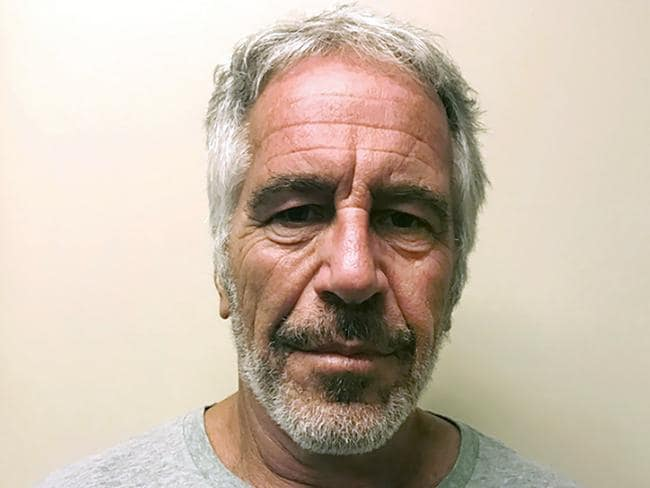 """""""I have to ask you a question that has been plaguing me for a while: How did you kill Jeffrey Epstein?"""" Picture: New York State Sex Offender Registry"""