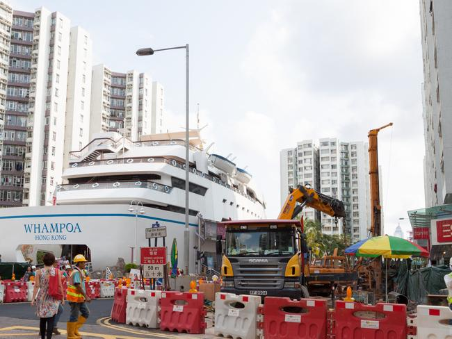 The Whampoa Garden in Hong Kong.