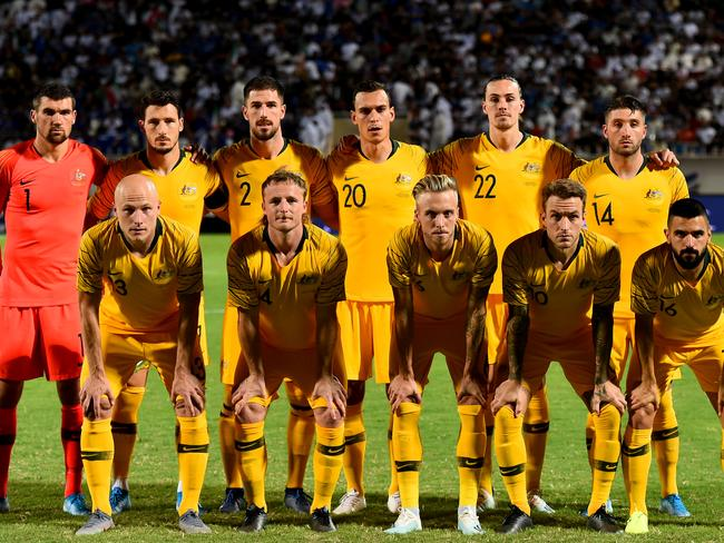 A massive challenge awaits the Socceroos.