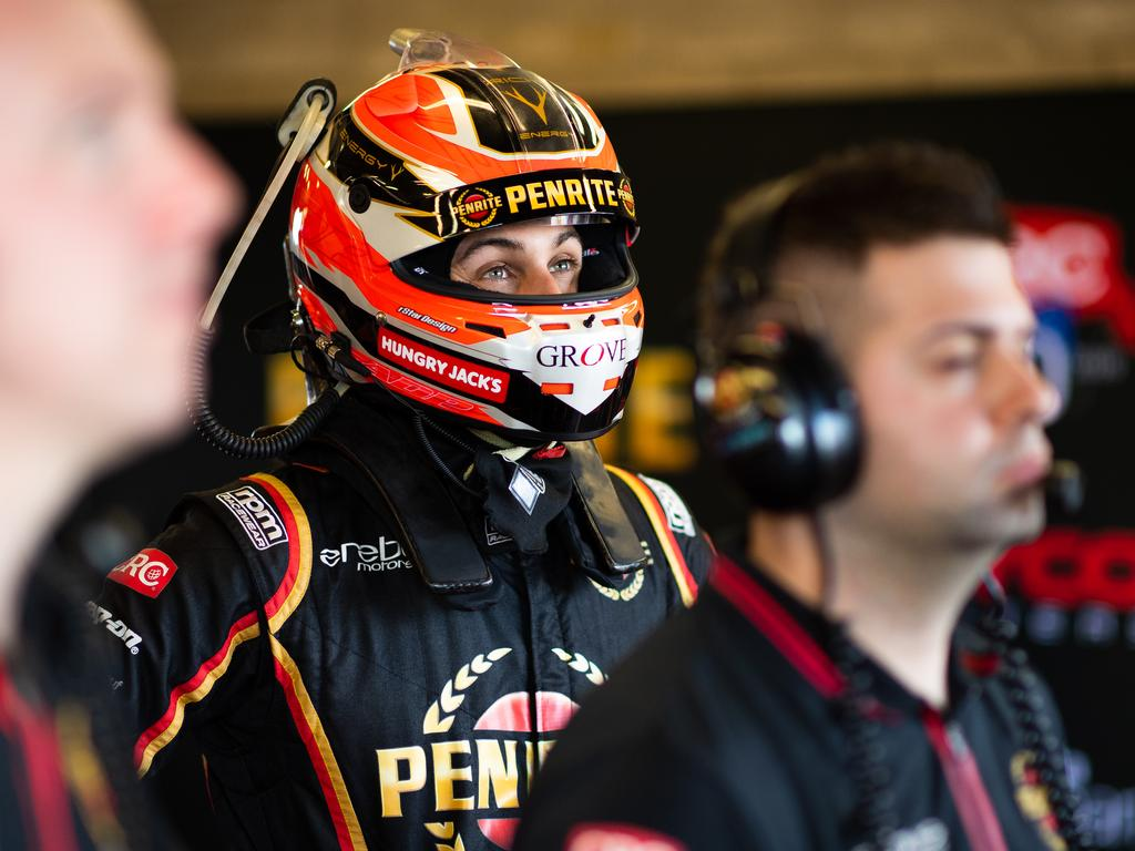 DARWIN, AUSTRALIA - JUNE 16: Anton de Pasquale driver of the #99 Penrite Racing Holden Commodore ZB looks on during the Darwin Triple Crown round of the Supercars Championship at Hidden Valley Raceway at Hidden Valley Raceway on June 16, 2019 in Darwin, Australia. (Photo by Daniel Kalisz/Getty Images)