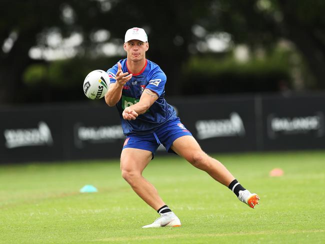 Kalyn Ponga wants to make the no. 6 his own.