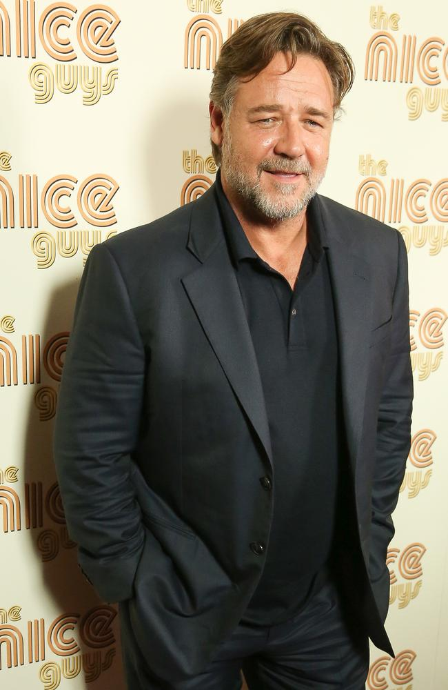 Russell Crowe was a close friend of the late Steve Irwin. Picture: Rob Kim/Getty Images