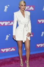 Kylie Jenner arrives at the MTV Video Music Awards at Radio City Music Hall on Monday, Aug. 20, 2018, in New York. Picture: Evan Agostini/Invision/AP