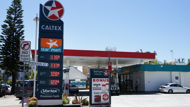 Caltex was created when the two merged in 1995.