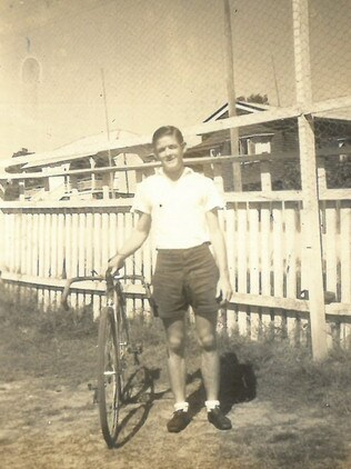 Pat Mulheran was one of the founding members of Balmoral Cycling Club.