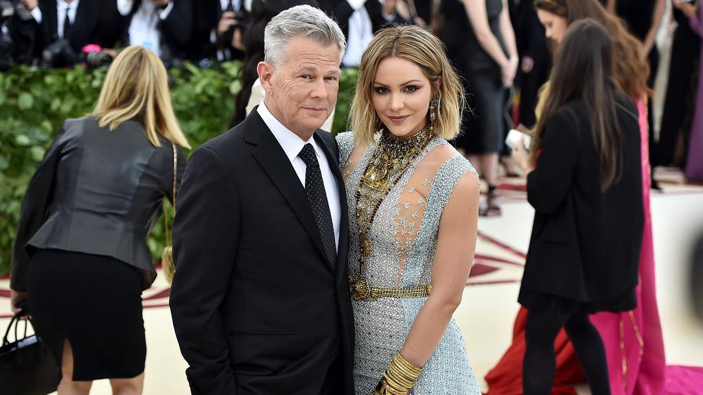 Katharine McPhee and David Foster started as colleagues, then friends – now they're married. Picture: Getty
