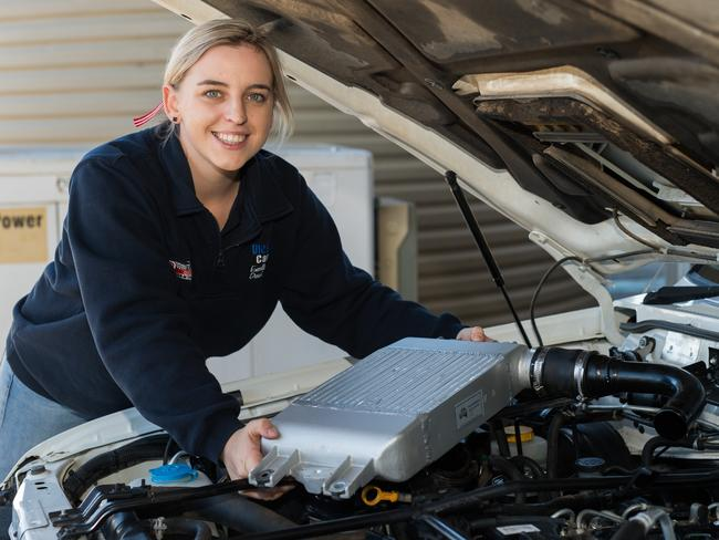 Australian Apprentice of the Year Gemma Hartwig. Picture: Supplied