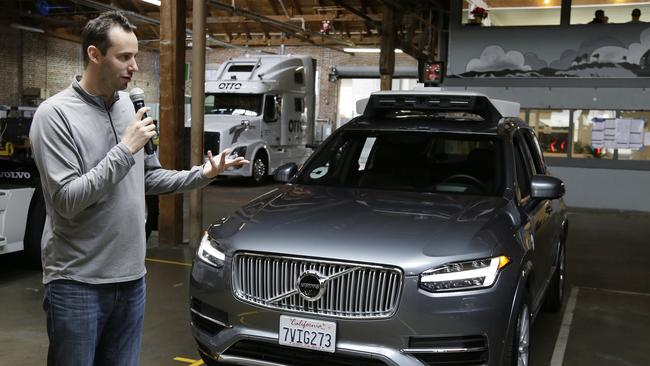 Levandowski is accused of stealing highly valuable technology. Picture: Eric Risberg/AP