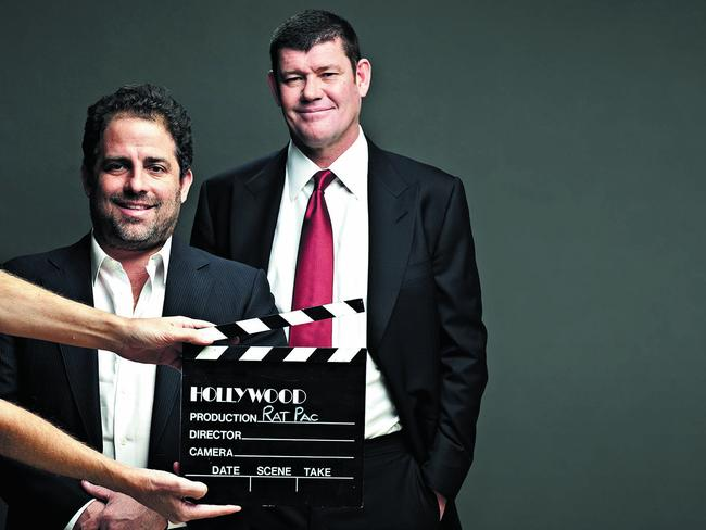 James Packer and Brett Ratner are photographed for Forbes Magazine Australia in 2014. Picture: Getty