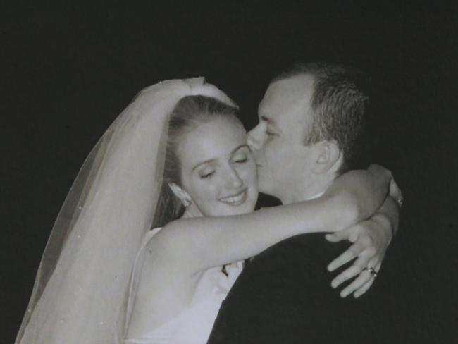 Katrina Dawson with husband Paul Smith.