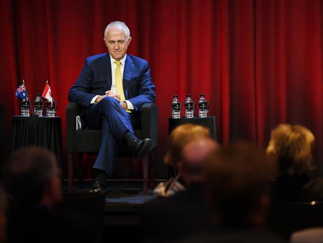 Prime Minister Malcolm Turnbull wrote a scratching piece about the UN's treatment of Israel. Picture: AAP/Dean Lewins
