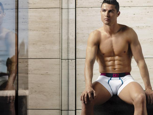 Abs for days. Picture: CR7 Underwear/MEGA