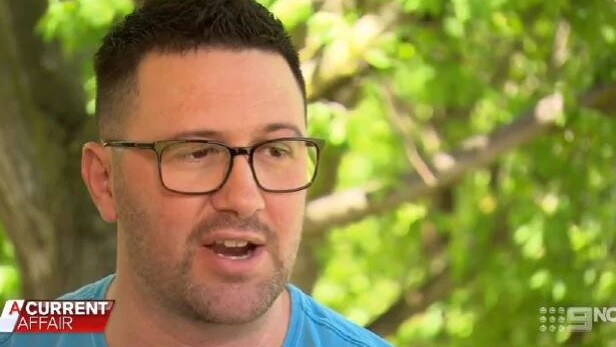 Cameron Baker now believes he's owed more than $150,000. Picture: Channel 9