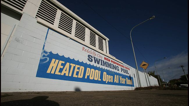CENTRE of excellence: The Redcliffe swimming high performance centre. PIC: Jamie Hanson