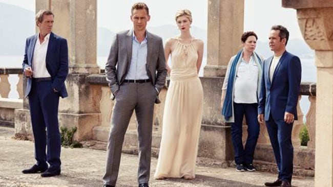 The Night Manager, starred Hugh Laurie, Tom Hiddleston, Elizabeth Debicki, Olivia Colman and Tom Hollander. Picture: BBCFirst