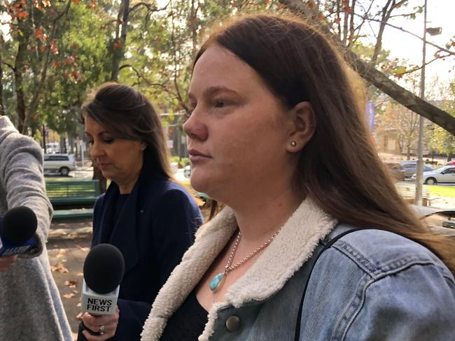 Gray did not explain exactly why she made up the lie. Picture: news.com.au