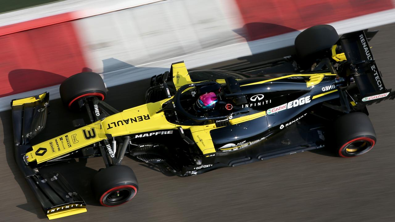 Renault expect their car to struggle to make up the ground to the big three.
