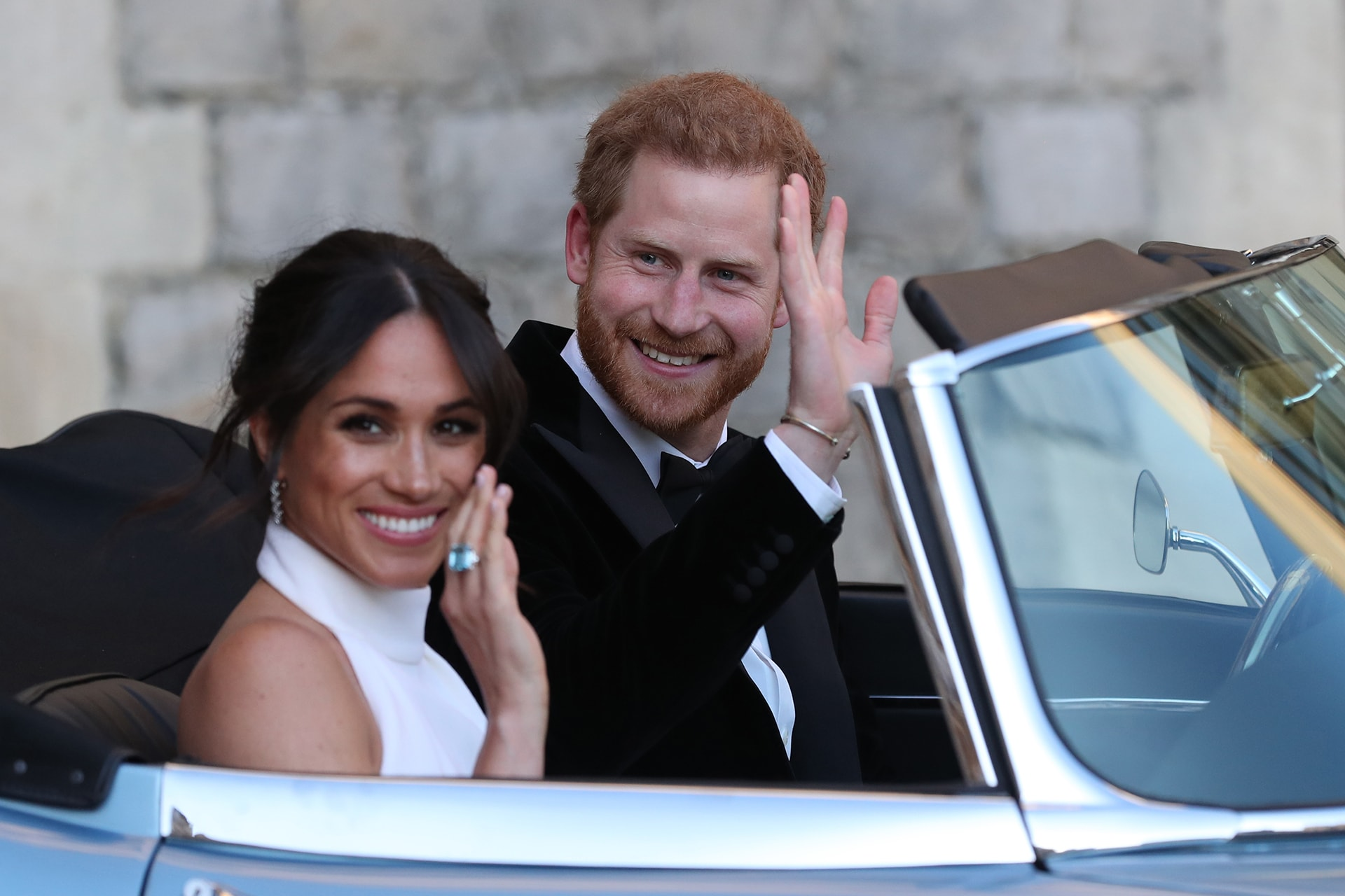 Meghan Markle's Stella McCartney wedding reception gown at every angle