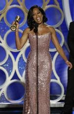 Regina King from If Beale Street Could Talk accepts the Best Actress in a Supporting Role in any Motion Picture award onstage during the 76th Annual Golden Globe Awards. Picture: Getty